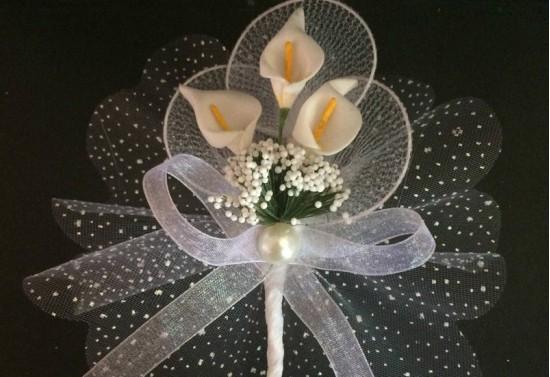 Gala Çiçekli Nikah Şekeri NS37