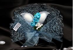 Mavi Çiçekli Nikah Şekeri NS59