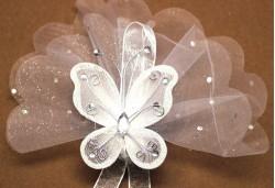 Gümüş Kelebek Nikah Şekeri NS130